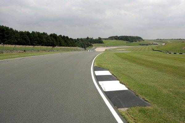 Craner Curves Donington Park Track Feature, Donington Park, England, 24 July 2008.