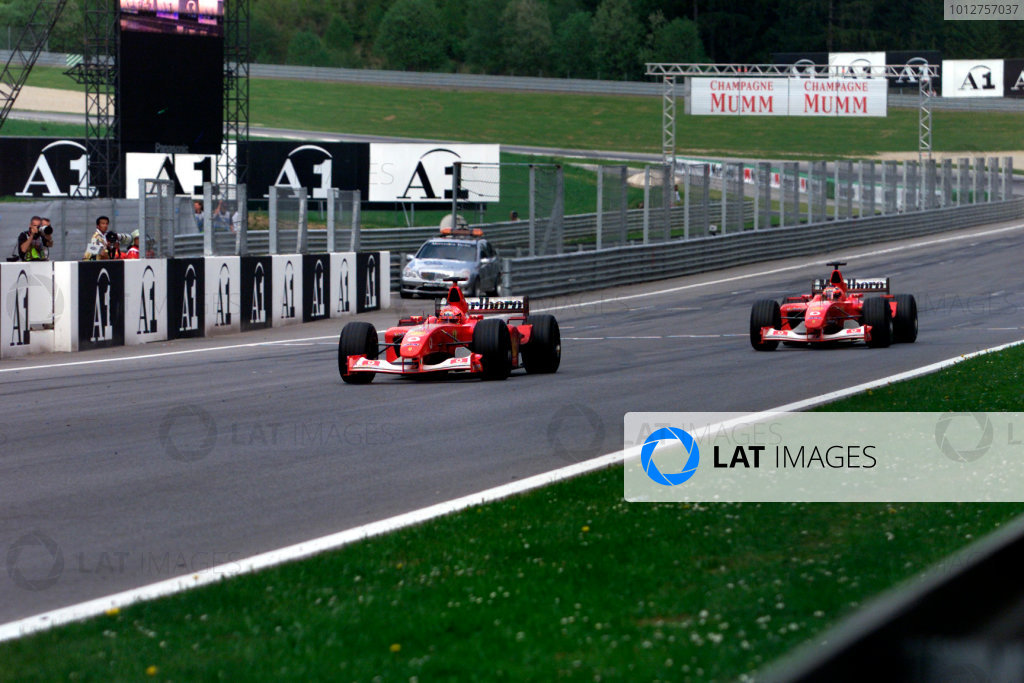 2002 Austrian Grand Prix.