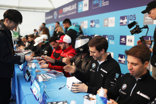 Alexander Sims (GBR) BMW I Andretti Motorsports, and Antonio Felix da Costa (PRT), BMW I Andretti Motorsports