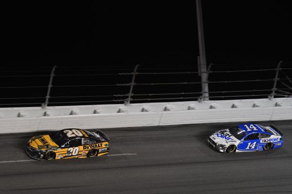 #20: Christopher Bell, Joe Gibbs Racing, Toyota Camry DEWALT #14: Chase Briscoe, Stewart-Haas Racing, Ford Mustang HighPoint.com