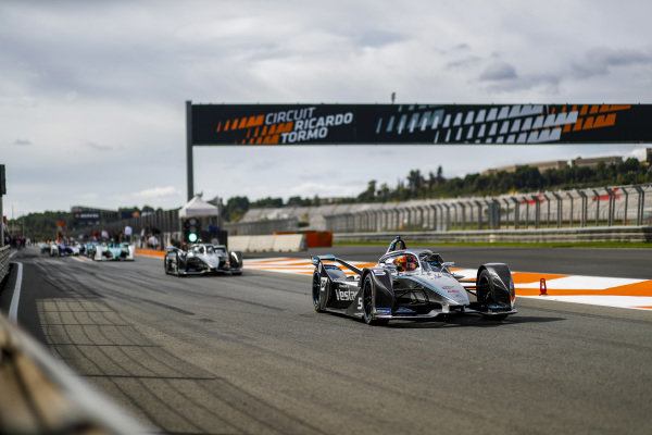 Stoffel Vandoorne (BEL), Mercedes Benz EQ Formula, EQ Silver Arrow 01 leaving the pit lane