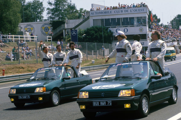 Le Mans, France. 20th - 21st June 1990.