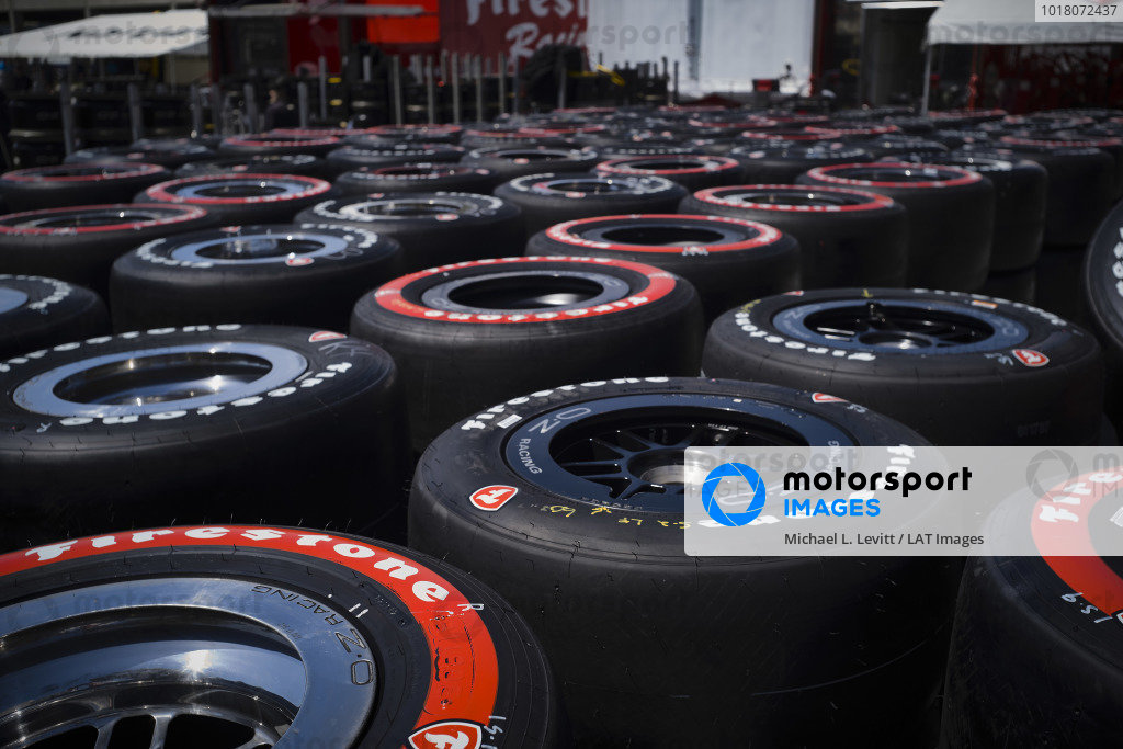 Hundreds of unused Firestone tires are returned