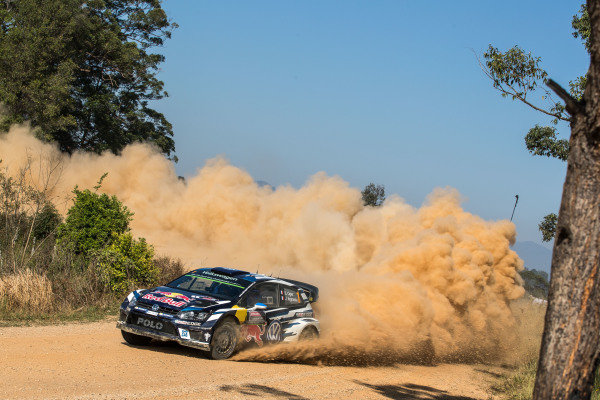 Sebastien Ogier (FRA) / Julien Ingrassia (FRA), Volkswagen Motorsport Polo R WRC at FIA World Rally Championship, Rd13, Rally Australia, Day Three, Coffs Harbour, New South Wales, Australia, 20 November 2016.