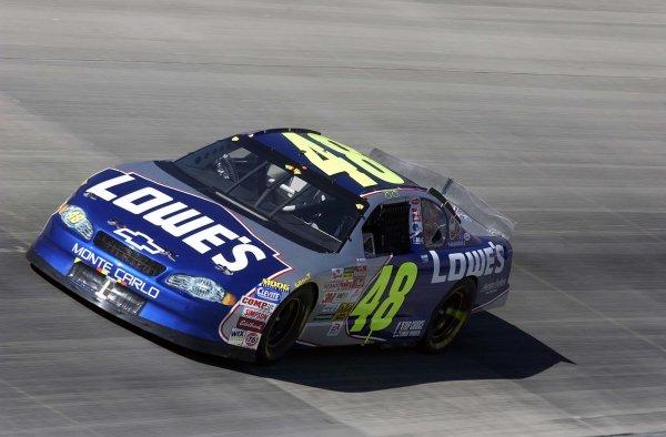 2002 NASCAR,Dover Downs,Sept 20-22, 20022002 NASCAR, Dover,Del . USA -Jimmie Johnson at speed,Copyright-Robt LeSieur2002LAT Photographic