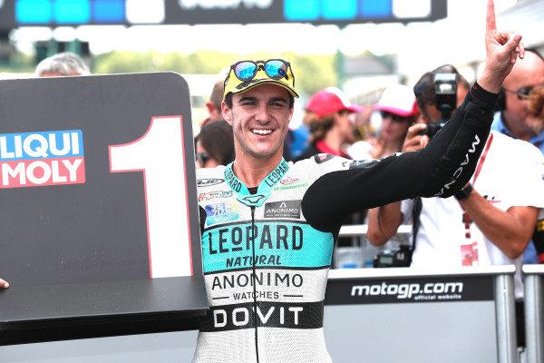Race winner Marcos Ramirez, Leopard Racing