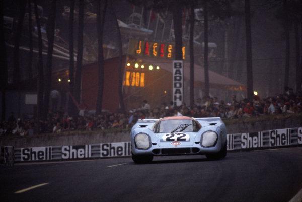 David Hobbs / Mike Hailwood, J. W. Automotive Engineering, Porsche 917K.