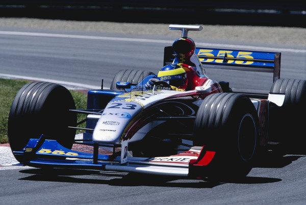 1999 Canadian Grand Prix.Montreal, Quebec, Canada. 11-13 June 1999.Ricardo Zonta (B.A R. 001 Honda).Ref-99 CAN 97.World Copyright - Charles Coates/LAT Photographic