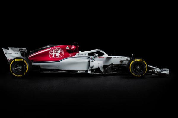 The new Alfa Romeo Sauber C37, Hinwil, Switzerland, 20 February 2018.
