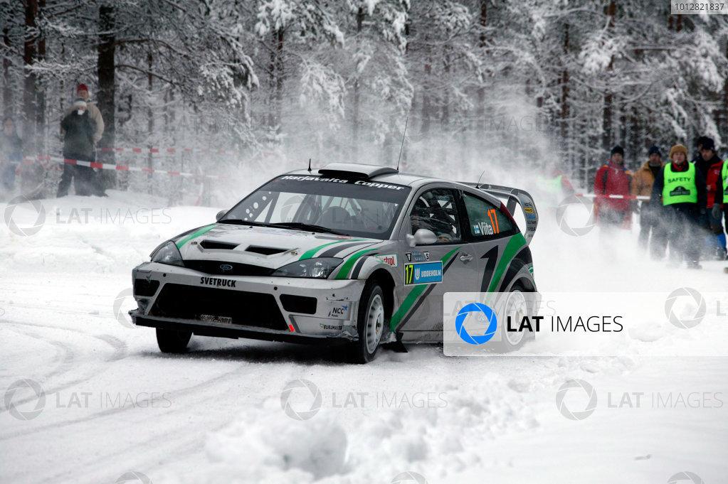 2004 FIA World Rally Champs. Round two, Swedish Rally.