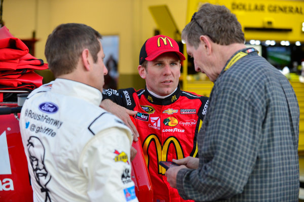 12-13 February, 2016, Daytona Beach, Florida, USA Jamie McMurray, Bill Elliott, Greg Biffle ?2016, Logan Whitton LAT Photo USA