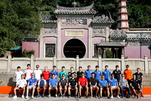 2015 Macau Formula 3 Grand Prix Circuit de Guia, Macau, China 18th - 22nd November 2015 All F3 Drivers. World Copyright: XPB Images/LAT Photographic ref: Digital Image 2015-Macau-F3-AT1-0021