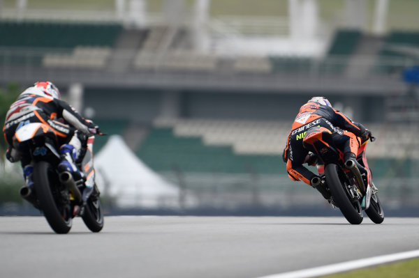 2017 Moto3 Championship - Round 17 Sepang, Malaysia. Friday 27 October 2017 Niccolo Antonelli, Red Bull KTM Ajo World Copyright: Gold and Goose / LAT Images ref: Digital Image 25057