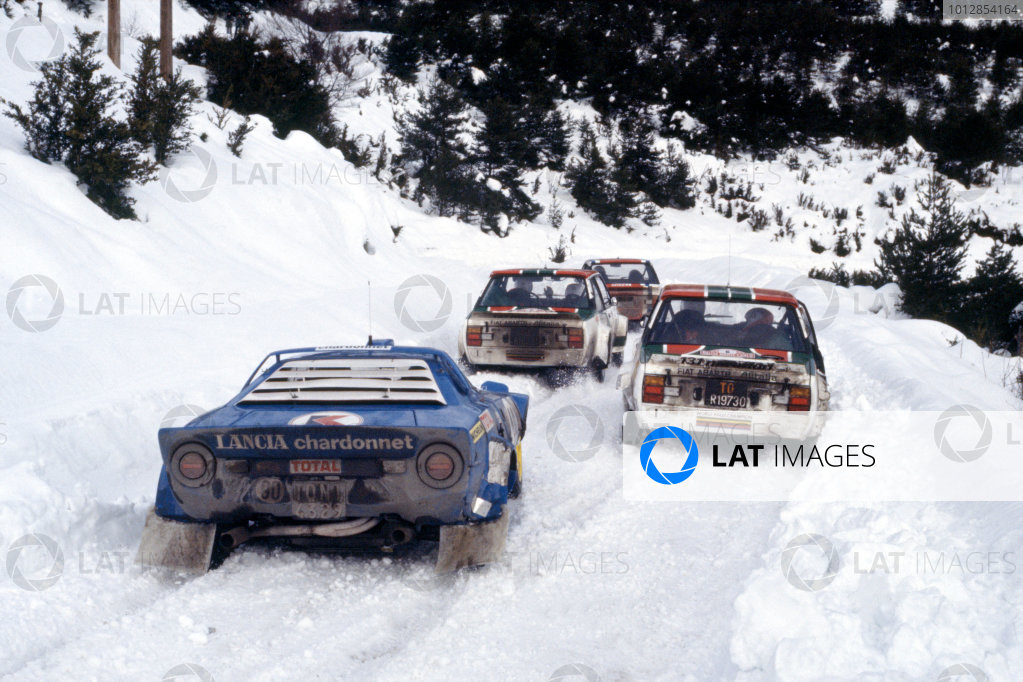 1978 Monte Carlo Rally.