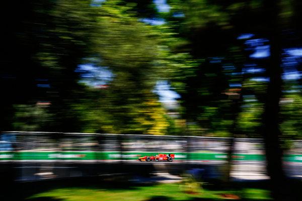 2017 FIA Formula 2 Round 4. Baku City Circuit, Baku, Azerbaijan. Sunday 25 June 2017. Gustav Malja (SWE, Racing Engineering)  Photo: Andy Hone/FIA Formula 2. ref: Digital Image _ONY9968