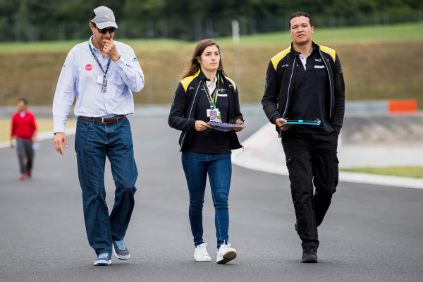 2017 GP3 Series Round 4.  Hungaroring, Budapest, Hungary. Thursday 27 July 2017. Tatiana Calderon (COL, DAMS).  Photo: Zak Mauger/GP3 Series Media Service. ref: Digital Image _54I0047