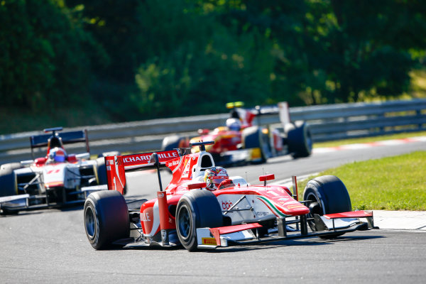 Hungaroring, Budapest, Hungary. Saturday 29 July 2017 Charles Leclerc (MCO, PREMA Racing).  Photo: Hone/FIA Formula 2 ref: Digital Image _ONZ9844