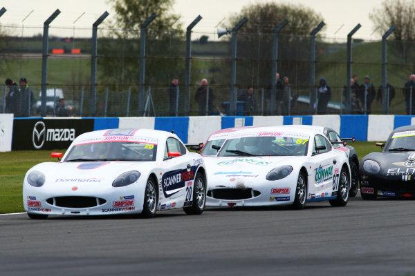 2017 Ginetta GT4 Supercup, Donington Park, 15th-16th April 2017 Kiern Jewiss (GBR) Douglas Motorsport  World copyright. JEP/LAT Images