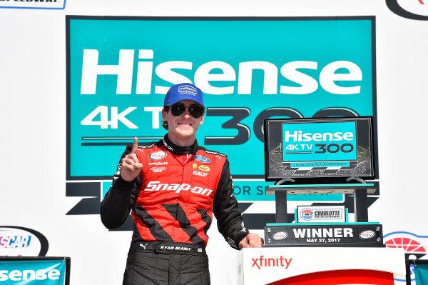 NASCAR Xfinity Series Hisense 4K TV 300 Charlotte Motor Speedway, Concord, NC USA Saturday 27 May 2017 Ryan Blaney, Snap-On Ford Mustang World Copyright: Rusty Jarrett LAT Images ref: Digital Image 17CLT2rj_9597