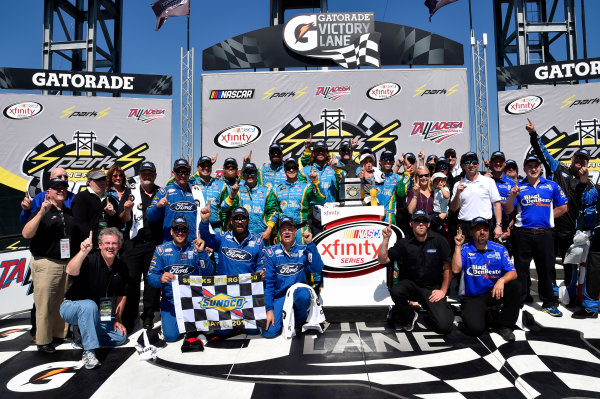 NASCAR Xfinity Series Sparks Energy 300 Talladega Superspeedway, Talladega, AL USA Saturday 6 May 2017 Aric Almirola, Fresh From Florida Ford Mustang World Copyright: Rusty Jarrett LAT Images ref: Digital Image 17TAL1rj_2632