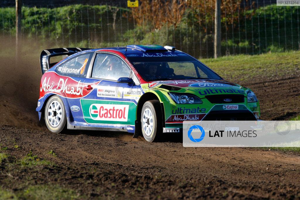 Rally New Zealand, 28th - 31st  August   2008World Copyright: McKlein/LATMikko Hirvonen, Ford, action