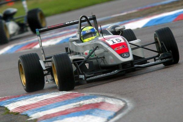 Race 2 - James Walker (GBR) Hitech Racing British Formula Three, Thruxton, England.23rd September 2006DIGITAL IMAGE