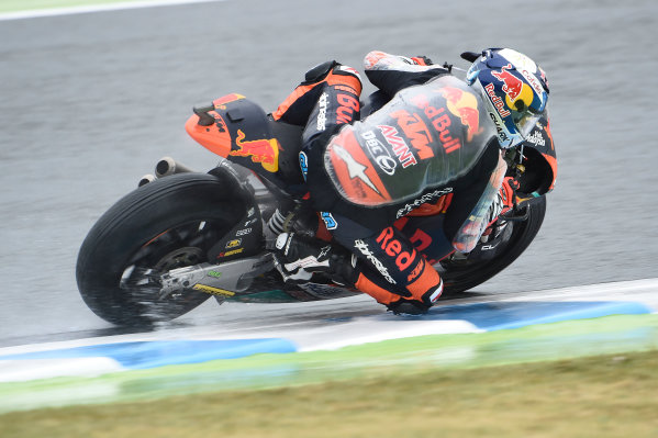 2017 Moto2 Championship - Round 15 Motegi, Japan. Friday 13 October 2017 Miguel Oliveira, Red Bull KTM Ajo World Copyright: Gold and Goose / LAT Images ref: Digital Image 21407