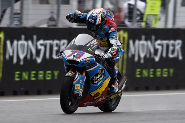 2017 Moto2 Championship - Round 10 Brno, Czech Republic Sunday 6 August 2017 Second place Alex Marquez, Marc VDS World Copyright: Gold and Goose / LAT Images ref: Digital Image 50869