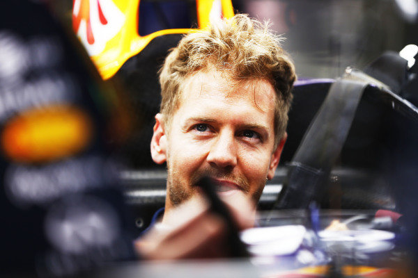 Circuit de Catalunya, Barcelona, Spain. Thursday 8 May 2014. Sebastian Vettel, Red Bull Racing. World Copyright: Andy Hone/LAT Photographic. ref: Digital Image _ONY7714