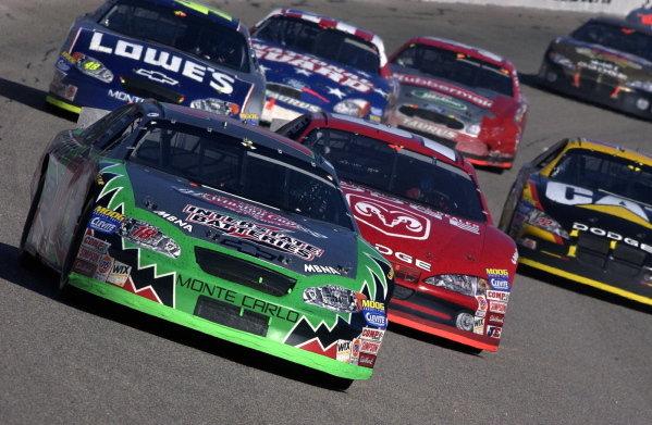 Bobby Labonte (USA), Interstate Batteries Chevrolet, finished 8th. NASCAR Winston Cup Series, Rd35, Pop-Secret Microwave Popcorn 400, Rockingham, North Carolina, USA. 9 November 2003.DIGITAL IMAGE