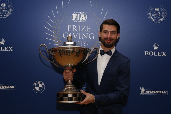 2016 FIA Prize Giving Vienna, Austria Friday 2nd December 2016 Jose Maria Lopez. Photo: Copyright Free FOR EDITORIAL USE ONLY. Mandatory Credit: FIA ref: 31236845902_62ede72ac5_o