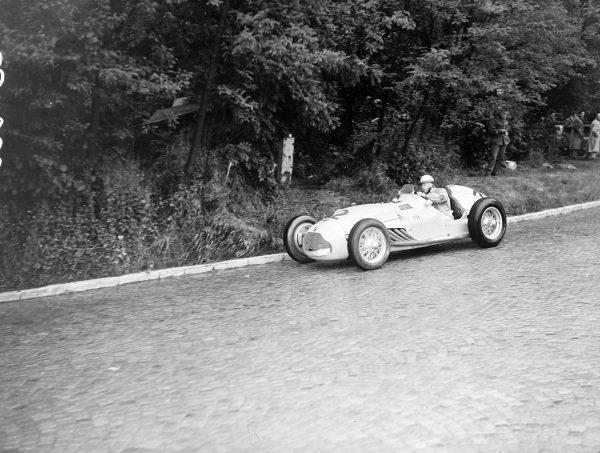 Johnny Claes, Talbot-Lago T26C-DA.