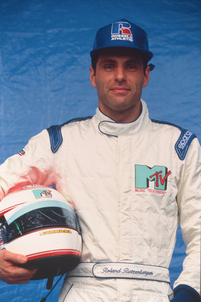 1994 Formula 1 World Championship.Roland Ratzenberger (Simtek).Ref-R10A 01.World - LAT Photographic