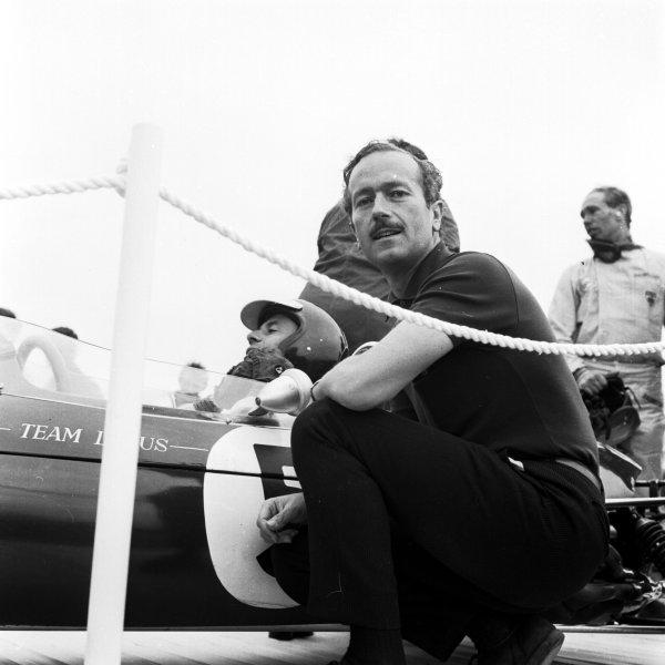 Formula 1 World Championship.Colin Chapman (Lotus).Ref-29871.World - LAT Photographic