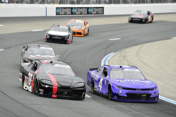 #4: Landon Cassill, JD Motorsports, Chevrolet Camaro Voyager, #78: Jesse Little, B.J. McLeod Motorsports, Toyota Supra