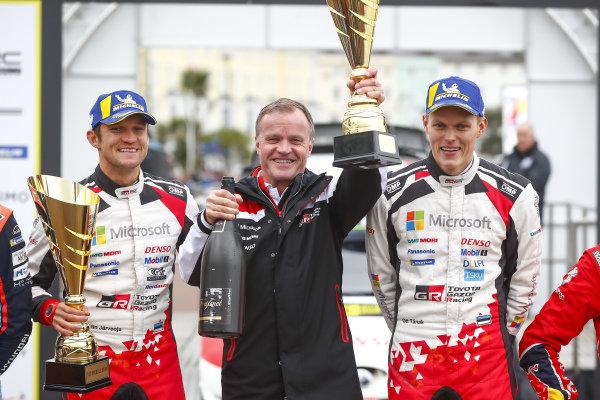 Ott Tänak (EST), Martin Järveoja (EST), Tommi Makinen (FIN), Toyota Gazoo Racing WRT, Toyota Yaris WRC 2019