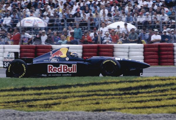 1995 Canadian Grand Prix.Montreal, Quebec, Canada. 9-11 June 1995.Heinz-Harald Frentzen (Sauber C14 Ford).Ref-95 CAN 38.World Copyright - LAT Photographic