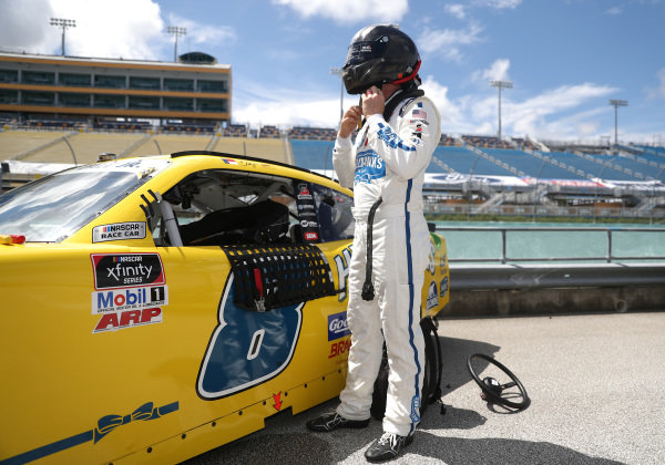 Dale Earnhardt Jr., JR Motorsports Chevrolet Hellmann's, Copyright: Chris Graythen/Getty Images.