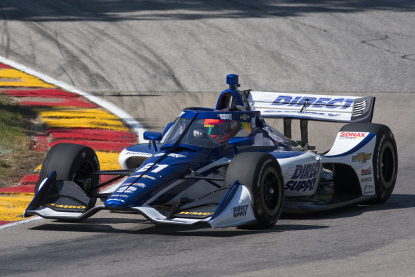 #21: Rinus VeeKay, Ed Carpenter Racing Chevrolet