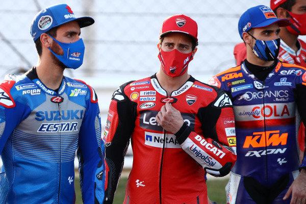 Alex Rins, Team Suzuki MotoGP, Andrea Dovizioso, Ducati Team