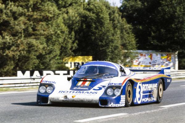 Al Holbert / Hurley Haywood / Jürgen Barth, Porsche System, Porsche 956.