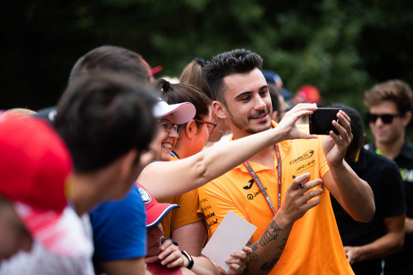 HUNGARORING, HUNGARY - AUGUST 02: Alessio Deledda (ITA, Campos Racing) during the Hungaroring at Hungaroring on August 02, 2019 in Hungaroring, Hungary. (Photo by Joe Portlock / LAT Images / FIA F3 Championship)