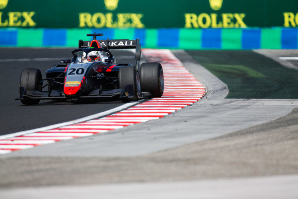 HUNGARORING, HUNGARY - AUGUST 04: Leonardo Pulcini (ITA, Hitech Grand Prix) during the Hungaroring at Hungaroring on August 04, 2019 in Hungaroring, Hungary. (Photo by Joe Portlock / LAT Images / FIA F3 Championship)