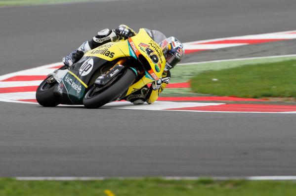 2014 Moto2 Championship  British Grand Prix.  Silverstone, England. 29th - 30st August 2014.  Maverick Vinales, Kalex.  Ref: _W7_8639. World copyright: Kevin Wood/LAT Photographic