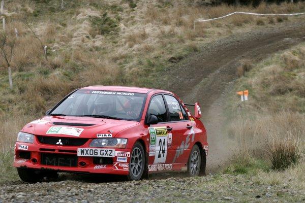 2006 British Rally Championship,Pirelli International Rally, Carlisle 13th-14th May 2006,Shaun Gallagher,World Copyright: Jakob Ebrey/LAT Photographic.