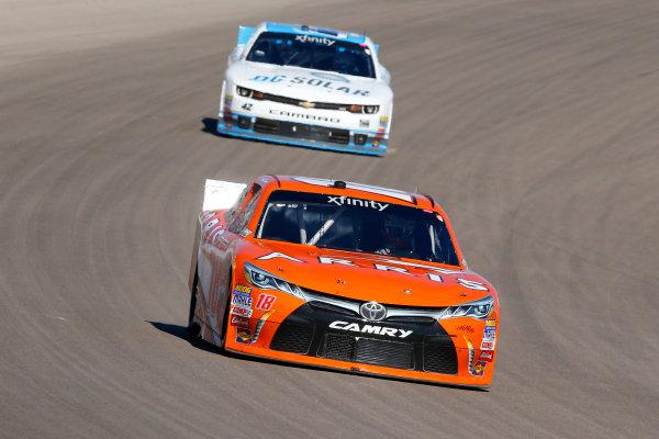 6-7 March, 2015, Las Vegas, Nevada USA Daniel Suarez, Arris Toyota Camry ?2015, Russell LaBounty LAT Photo USA