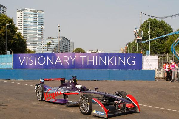 Practice Session 1. Sam Bird (GBR)/Virgin Racing - Spark-Renault SRT_01E  FIA Formula E World Championship. Buenos Aires, Argentina, South America. Saturday 10 January 2015.  Copyright: Adam Warner / LAT / FE ref: Digital Image _A8C1381