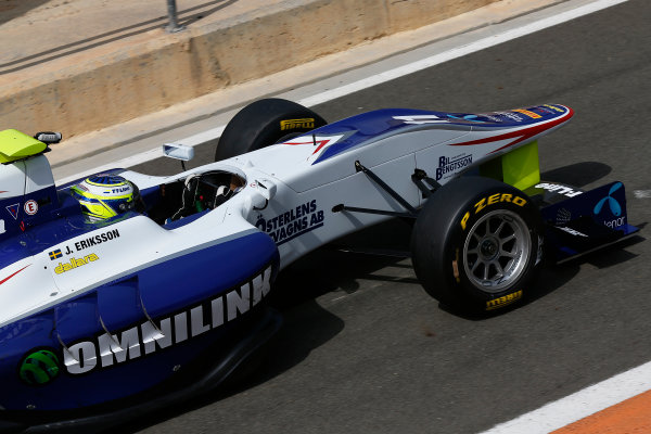 2015 GP3 Series Test 2 - Circuit Ricardo Tormo, Valencia, Spain. Friday 10 April 2015. Jimmy Eriksson (SWE, Koiranen GP)  Photo: Sam Bloxham/GP3 Series Media Service. ref: Digital Image _SBL5253