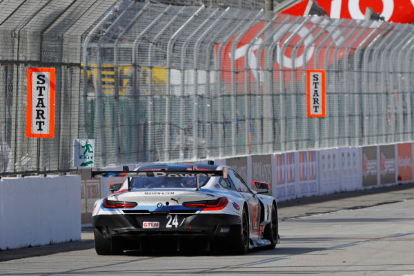 #24 BMW Team RLL BMW M8, GTLM: John Edwards, Jesse Krohn