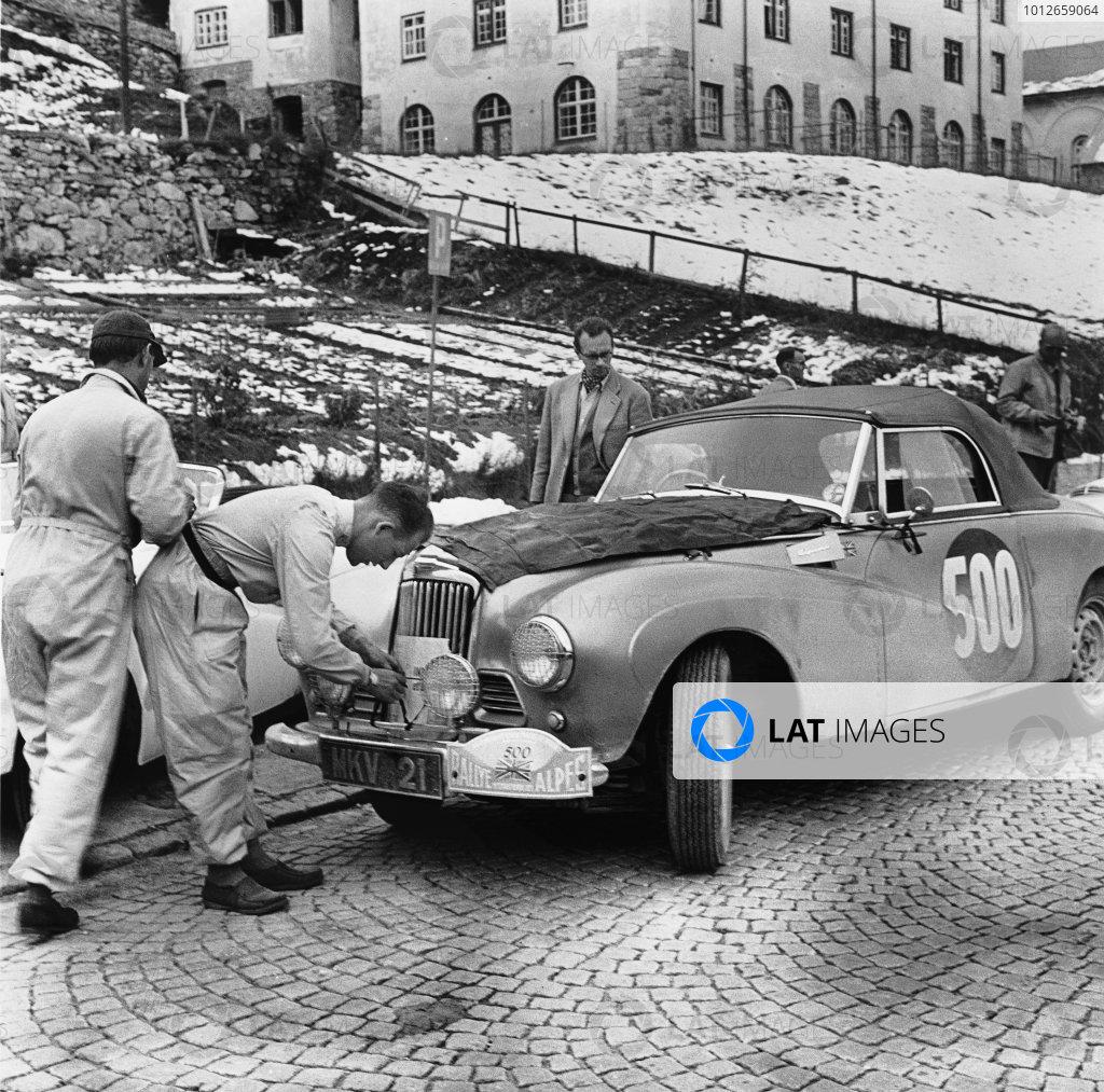 1954 Alpine Rally.